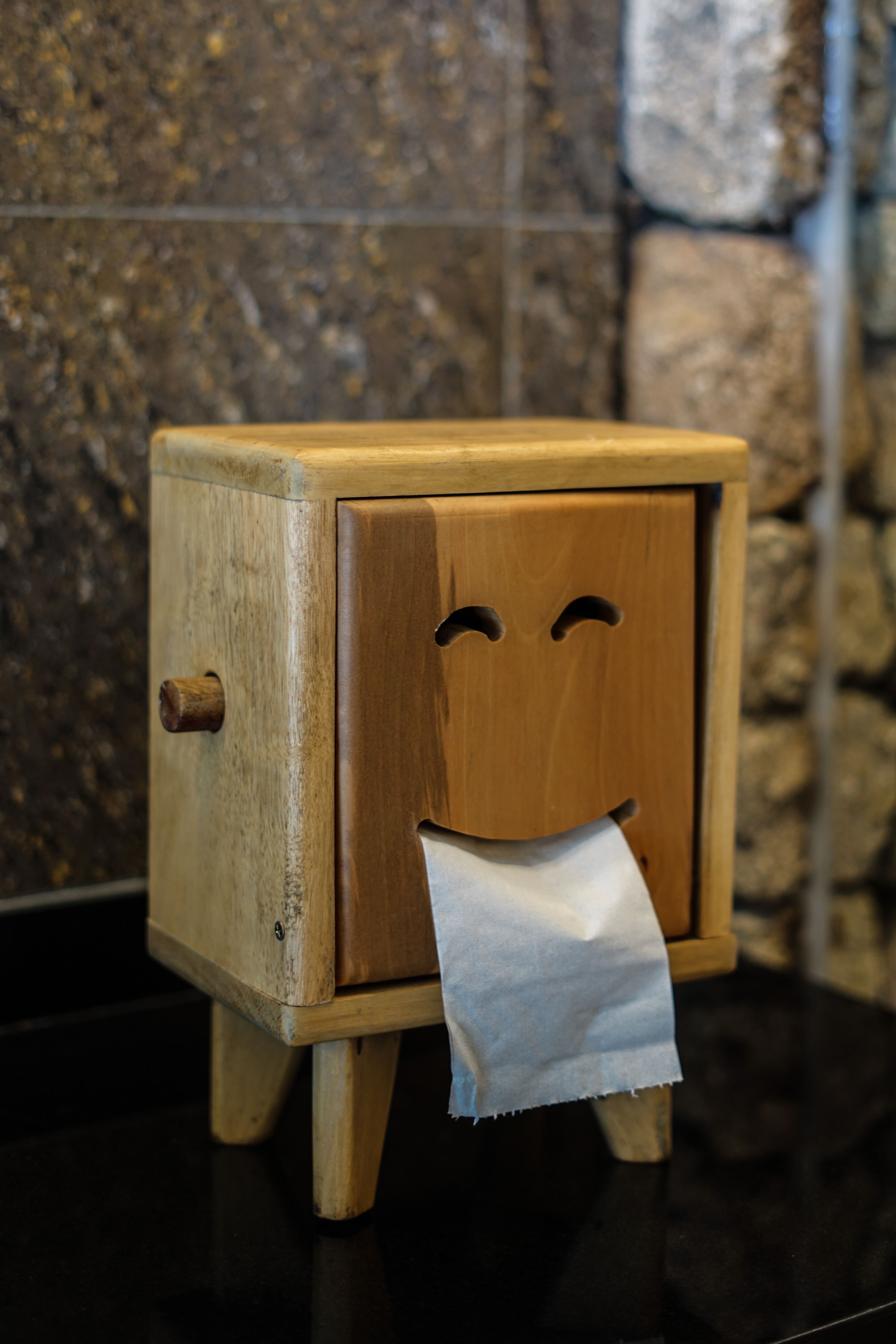toiletpapier smiley- ontlasten